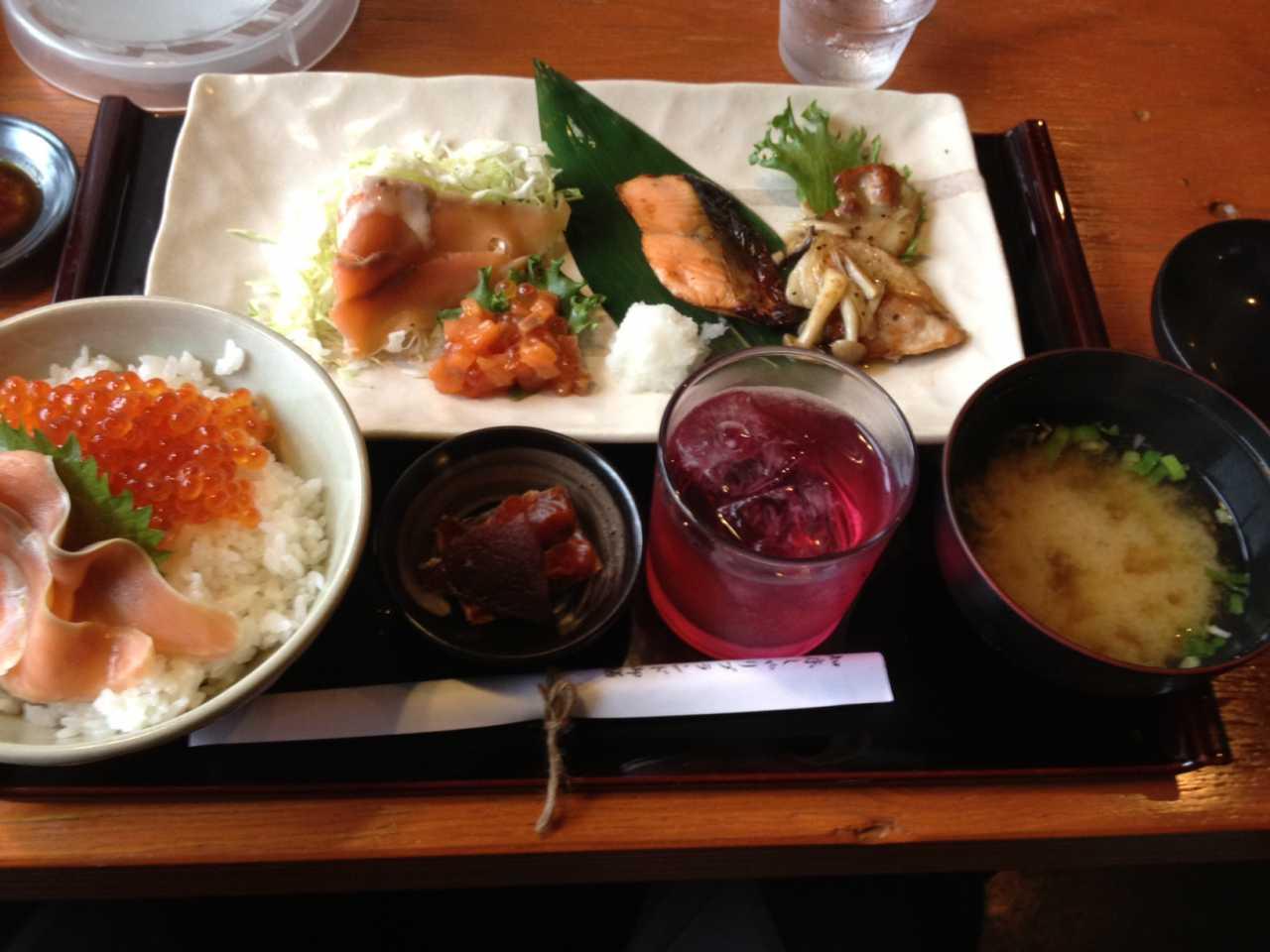 ▲ 新鮮な魚は北海道ならでは