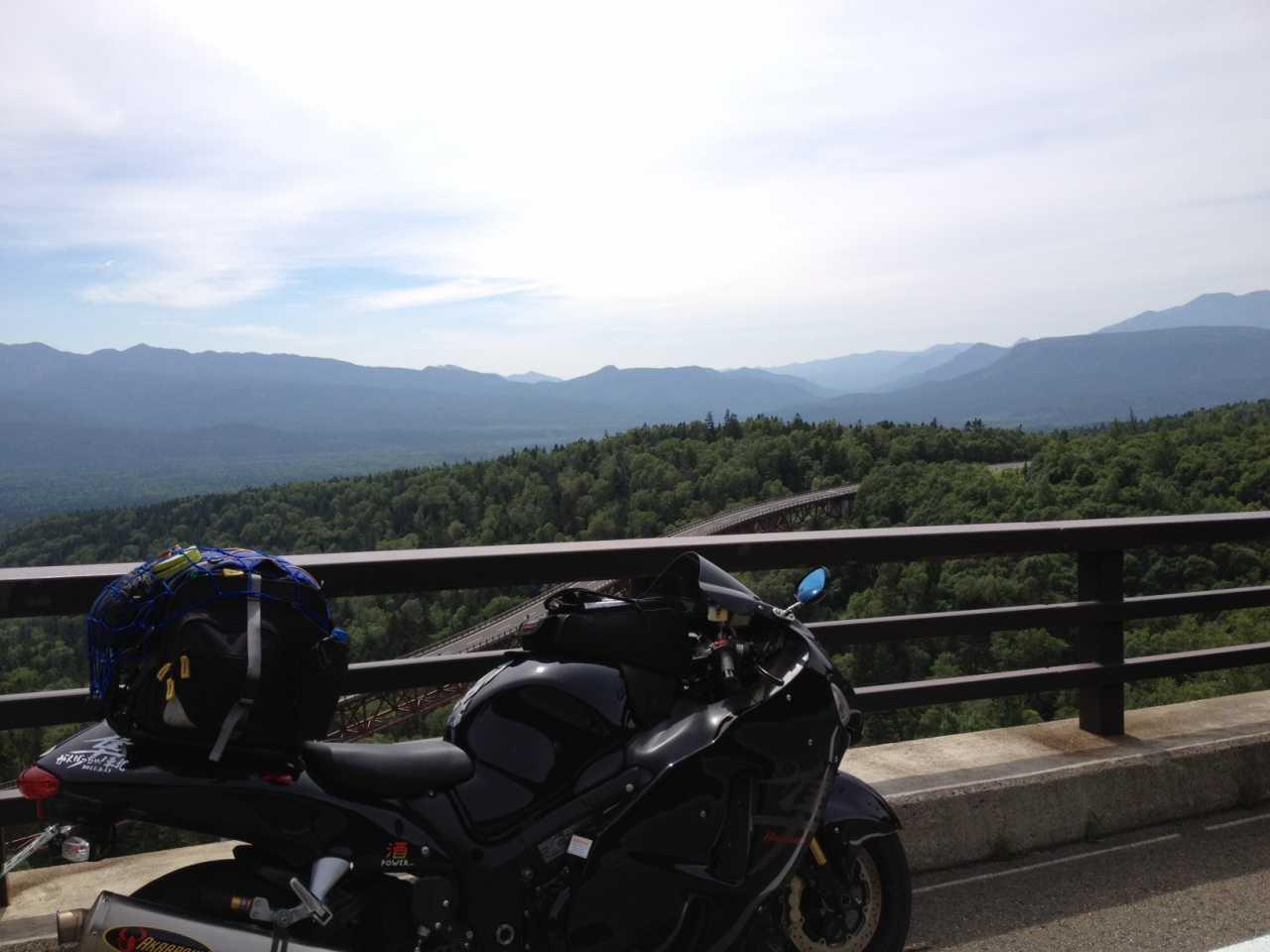 ▲ バイクの聖地「三国峠」は外せない