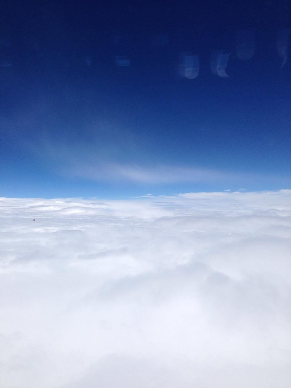 ▲ 雲海の向こうは北の大地